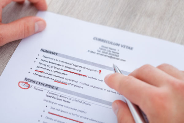 Professional cv writing services south africa